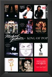 Michael Jackson - Album Covers Prints