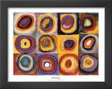 Farbstudie Quadrate Prints by Wassily Kandinsky