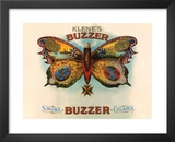 Klene's Buzzer Cigar Prints by Vintage Golf