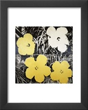 Flowers, c.1966 (Yellow and White) Posters by Andy Warhol