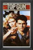 Top Gun Movie Tom Cruise and Kelly McGillis 80s Poster Print Print