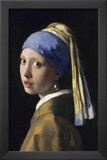 Johannes Vermeer Girl with a Pearl Earring Art Print Poster Prints