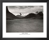 Ansel Adams St. Mary's Lake Glacier National Park Print Poster Prints