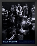Billie Holiday (Lady Sings the Blues, Carnegie Hall, NYC 1944) Music Poster Print Posters