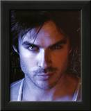 The Vampire Diaries Damon Ian Somerhalder TV Glossy Photo Photograph Print Framed Photographic Print