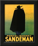Georges Massiot (Porto & Sherry Sandeman) Art Poster Print Posters