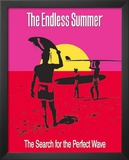 The Endless Summer Movie Holding Surfboard Poster Print Prints