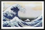The Great Wave at Kanagawa , c.1829 Print by Katsushika Hokusai