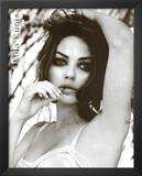 Mila Kunis Black and White Movie Poster Print Art