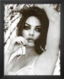 Mila Kunis Black and White Movie Poster Print Art