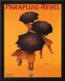 Leonetto Cappiello Parapluie Revel Art Print Poster Posters