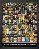 Beer Bottles (Decisions) Posters