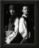 Pirates of Caribbean GLOSSY PICTURE POSTER Depp Bloom Framed Photographic Print