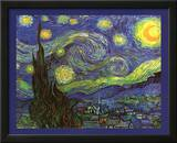 Vincent Van Gogh (Starry Night) Art Print Poster Print