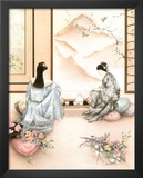 Asian Tea (Geisha) Art Print Poster Prints