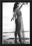 Bettie Page Sheer Archival Photo Poster Print Poster