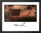 Salvador Dali Impressions Of Africa Art Print POSTER Prints