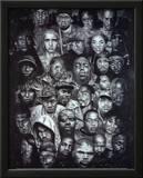 Rap Gods POSTER hip-hop Eminem Biggie Nelly Jay-z 2pac Art