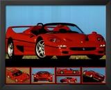 Ferrari F-50 (Photos) Sport Poster Print