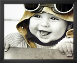 Kim Anderson (Baby Pilot) Art Poster Print Art