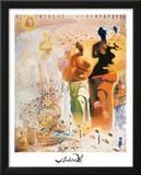 Salvador Dali Hallucinogenic Toreador Art Print Poster Prints