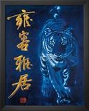 Tiger (Asian Tiger) Art Poster Print Prints