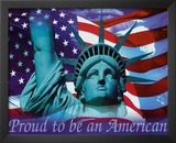 Proud to be an American - Mini Print