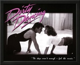 Dirty Dancing Movie Patrick Swayze Dancing Jennifer Grey 80s Poster Print Art