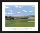 Golf Course Serenity Courage and Wisdom Art Print Poster Pôsters