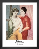Pablo Picasso (The Lovers) Art Print Poster Art