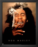 Bob Marley Ganja smoking POSTER reggae pot marijuana Art