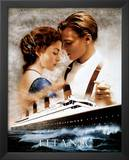 Titanic Movie Leonardo DiCaprio Kate Winslet Poster Print Prints