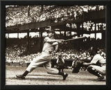 Joe Dimaggio The Swing Sports Poster Print Prints