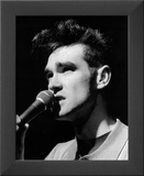 Morrissey (The Smiths, Microphone) Glossy Music Photo Photograph Print Framed Photographic Print