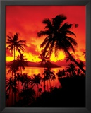 Sunset - In Fiji Print