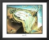 Salvador Dali Moment Of Explosion Art Print Poster Prints