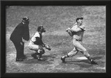 Ted Williams Long Ball Boston Red Sox Archival Photo Sports Poster Print Prints