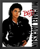 Michael Jackson Bad Album Cover Music Poster Print Posters