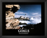 Goals (Lighthouse) Art Poster Print Posters