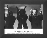 The Boondock Saints Movie (Cast) Glossy Photograph Photo Print Framed Photographic Print
