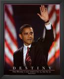 Barack Obama (Destiny) Art Poster Print Prints