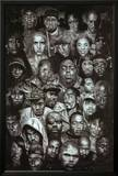 Rap Gods (Rapper Collage) Music Poster Print Pósters