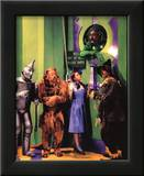 The Wizard of Oz Movie (Group in Oz) Glossy Photo Photograph Print Framed Photographic Print