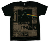 Pink Floyd - Dark Side Headlines T-shirts