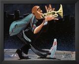 Modern Jazz Step Posters by David Garibaldi