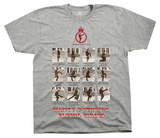 Monty Python - Silly Walks Frames T-Shirt