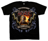 AC/DC - Hells Bells Shield Tshirt
