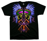 Neon Faceoff T-shirts
