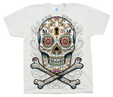Floral Skull T-Shirts