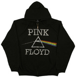 Zip Hoodie: Pink Floyd - Dark Side Classic Rozpinana bluza z kapturem